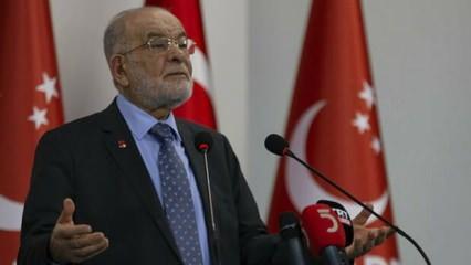 Karamollaoğlu'dan CHP, İYİ Parti, SP ve HDP'nin 'Anayasa' görüşmesine ilginç yorum