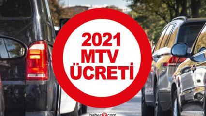 2021 Motorlu Taşıtlar Vergisi kaç TL? Araçlara göre MTV ücretleri...
