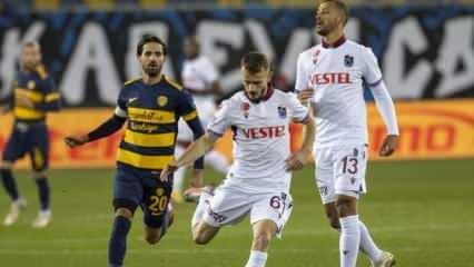 Trabzonspor tek attı 3 aldı