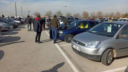 Araç sahipleri rekor fiyat istiyor! İkinci el araç pazarına giden eli boş dönüyor