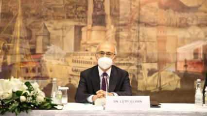 Bakan Elvan: TOBB heyeti ile sonuç odaklı bir toplantı gerçekleştirdik