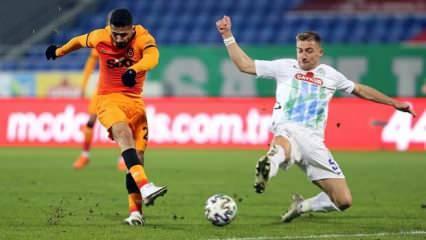 Galatasaray, Rize'de Diagne ile güldü