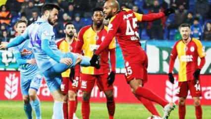 Çaykur Rizespor - Galatasaray! Muhtemel 11'ler