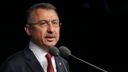 Cumhurbaşkanı Yardımcısı Fuat Oktay'dan Akdeniz'de Türk gemisindeki hukuk dışı aramaya tepki