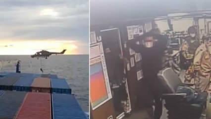Dışişleri'nden Türk gemisine Alman baskınına sert tepki