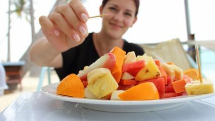 Diyette meyve ne zaman yenir? Geç saatte yenen meyve kilo aldırır mı?