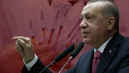Erdoğan'dan yerli Kovid-19 aşısı açıklaması! Nisana tarih verdi