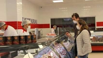 Et ve Süt Kurumu İstanbul'daki ilk mağazasını açtı