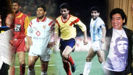 Maradona'nın bilinmeyen dünyası