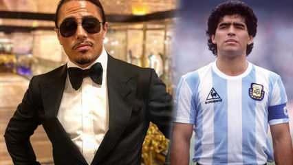 Nusret, Maradona'nın masasını kalıcı olarak rezerve etti!