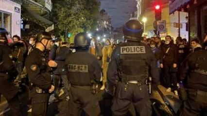 Paris'te polisin sığınmacılara uyguladığı şiddetin yankıları sürüyor