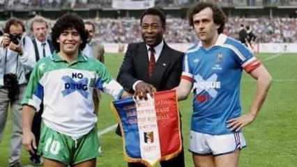 Platini'den Maradona açıklaması