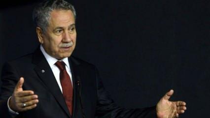 Son dakika: Bülent Arınç istifa etti
