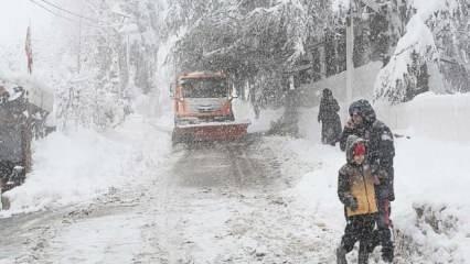 Son dakika... Meteoroloji saat verdi: Sağanak, fırtına ve kar yağışı uyarısı