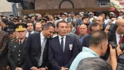 TSK'ya dil uzatan CHP'li vekil şehit cenazesinde gülücükler saçmıştı!