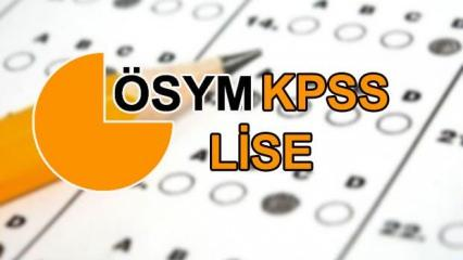 KPSS ortaöğretim sınav sonuçları ne zaman açıklanacak?  ÖSYM memur adayları için tarih verdi!