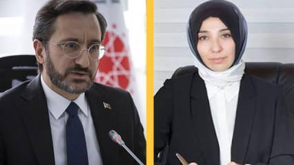 Fahrettin Altun ve ailesine sosyal medyadan çirkin saldırı
