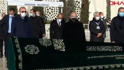 Cumhurbaşkanı Erdoğan, Turgut Kıran'ın cenaze törenine katıldı