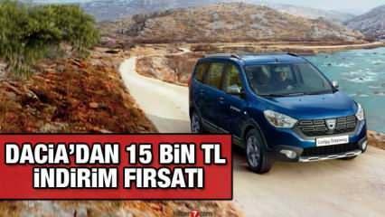 Dacia'dan 15 bin TL nakit indirim kampanyası: Yeni Dacia modelleri ve fiyat listesi