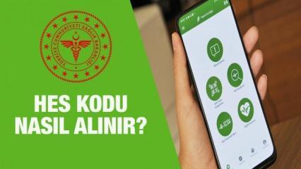 HES kodu nasıl alınır? E-devlet Hayat Eve Sığar ve SMS ile adım adım HES kodu alma yöntemi!