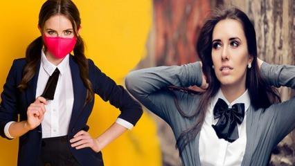 Kadınların yeni trendi: Papyon ve Kravat