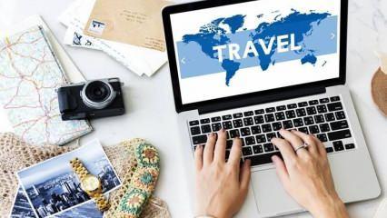 Türkiye ve Dünya'yı gezebileceğiniz online seyahat siteleri