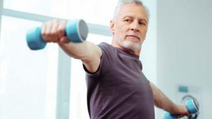 Pandemi döneminde evde kalacak 65 yaş üstü için egzersiz önerileri
