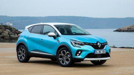 Renault Captur yenilendi! Yeni ön yüzü ile çok iddialı