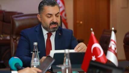 RTÜK Başkanı Şahin'den tepki: İbretle izliyorum...
