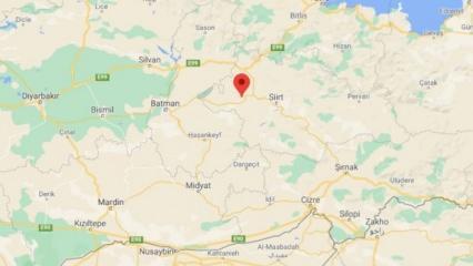 Son dakika: Siirt'te şiddetli deprem! Batman ve Diyarbakır da sallandı