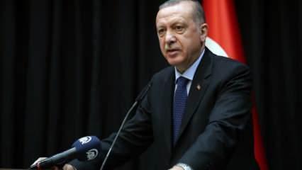 Skandal sözler sonrası Erdoğan harekete geçti!