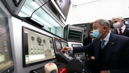 Varank ile Akar, ilk milli helikopter motorunun test işlemlerini takip etti