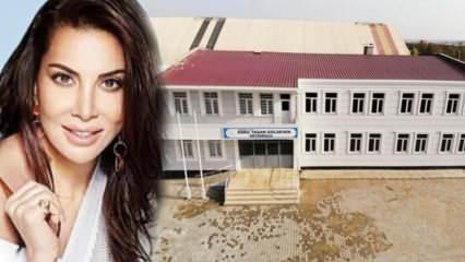 Sanatçı Ebru Yaşar'ın okulu eğitim için hazır!