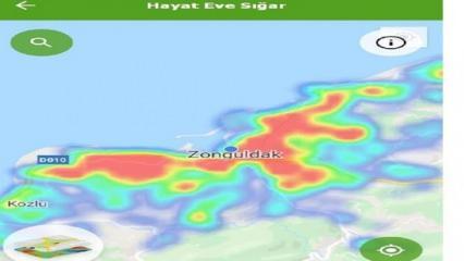 Zonguldak'ta koronavirüs vaka artışı HES'e yansıdı