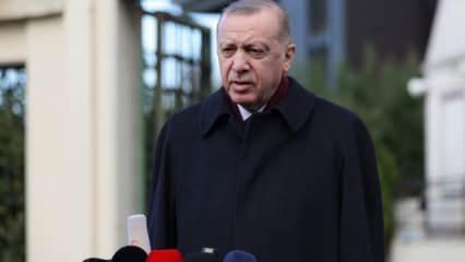 Başkan Erdoğan: Dün akşam oyun bozuldu...