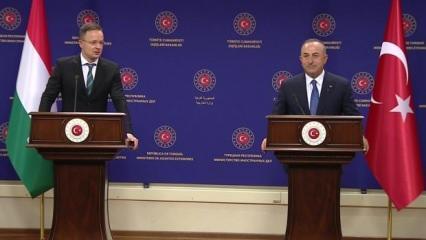 Çavuşoğlu ile görüştü, AB'ye mesajı verdi: Güvenliğimiz Türkiye'nin elinde