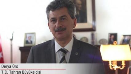 Erdoğan Bakü'de şiir okumuştu! İran, Türk elçisini Dışişleri'ne çağırdı