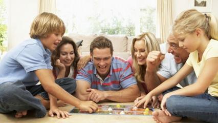 Evde ailecek oynanabilecek oyunlar