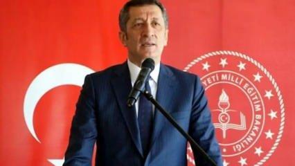 MEB Ziya Selçuk'tan okullar için son dakika açıklaması