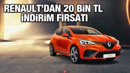 Renault'da 20 bin TL indirim kampanyası: İşte yeni Talisman Symbol Megane Clio Kadjar fiyatları