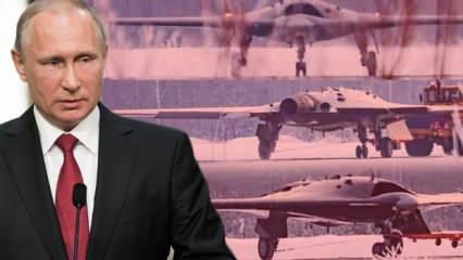 Türk SİHA'ları Putin'in ayarını bozdu! Savunma Bakanlığı'na Okhotnik İHA'sı talimatı