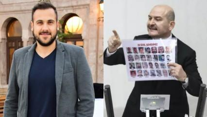 Ümit Erdim'den İç İşleri Bakanı Süleyman Soylu'nun Meclis'teki konuşmasına destek paylaşımı!