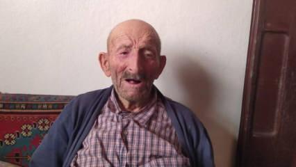 105 yaşında koronayı yenen yaşlı adamdan sağlıklı yaşamın sırrı: Yoğurt ve bal!