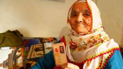 116 yaşında koronavirüsü yenen Fatma nine uzun yaşamın sırrını açıkladı!