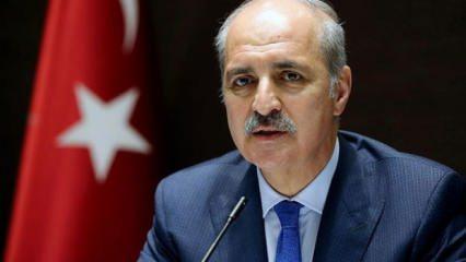 AK Parti Başkanvekili Kurtulmuş'tan ABD'ye sert yaptırım tepkisi!