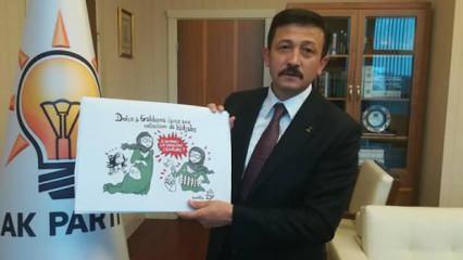 AK Parti'li Dağ'dan İzmir Büyükşehir Belediye Başkanı Soyer'e karikatürist tepkisi