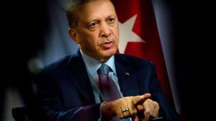 Cumhurbaşkanı Erdoğan: Yaptırım ilk defa Türkiye'ye uygulanıyor