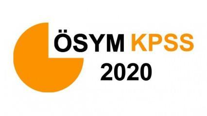 2020 KPSS ortaöğretim (lise) sonuçları ne zaman açıklanacak? ÖSYM sınav sonuç takvimi açıklandı