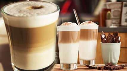 Latte kilo aldırır mı, Latte kahve kaç kalori? Evde sütlü köpüklü latte nasıl yapılır?