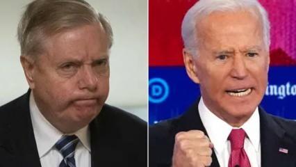 ABD karıştı! Graham'dan 'Biden kazandı' açıklaması